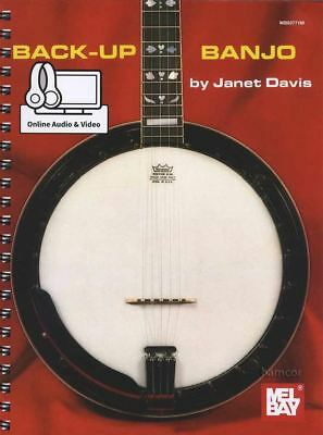 Back-up Banjo Tab Sheet Music Book/audio And Video Learn How To Play Method Rillingen En Pijnen