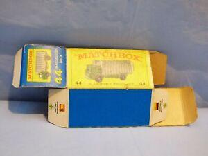 ORIGINAL-VINTAGE-EMPTY-MATCHBOX-BOX-FOR-44-Refrigerator-Truck-TOY-Lorry-Car