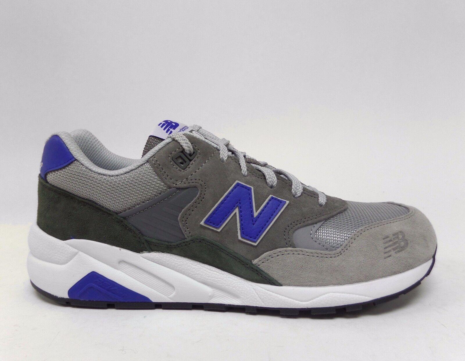 New Balance Men's 580 ELITE EDITION LOST CLASSICS shoes Dark Grey bluee MRT580LL