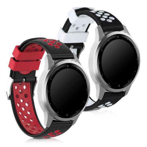 2x Sportarmband für Garmin Vivomove 3S Vivoactive 4S Fitness Tracker Halterung