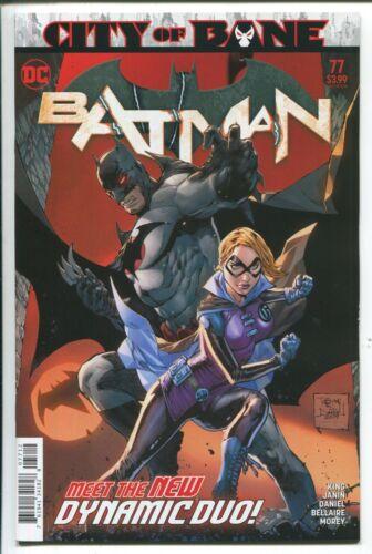 DANIEL MAIN COVER BATMAN #77 TONY S DC COMICS//2019 2nd PRINTING