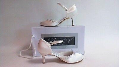 G westerleigh Boda Nupcial Zapatos-Adele-Marfil-Talla 38 Reino Unido 5 #11D455