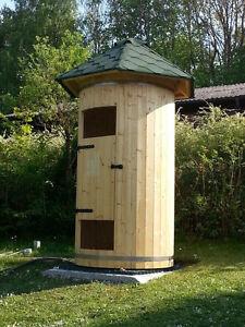 Gartendusche Dusche Holz Shower Room Duschcontainer Duschraum