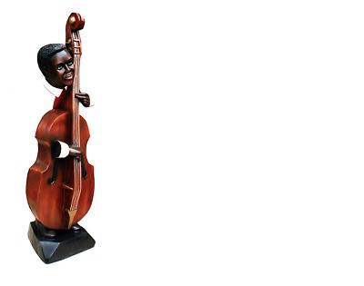 Nuova Moda Design Kontrabaß Spirito Figura Statua Scultura Figure Sculture Decorazione 4026-mostra Il Titolo Originale I Consumatori Prima