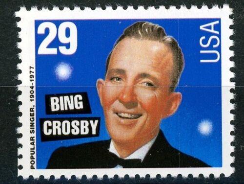 Bing Crosby Bingo Mint MNH CRISP US Postage Stamp Scott's 2850