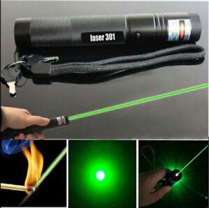 10Miles Laser Pointer Pen Green Light 532NM Lazer Hiking Flashlights Torches