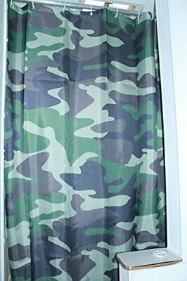 RV Shower Curtain Accessories Gear For Camper Trailer Camping Bathroom...