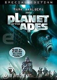Planet Of The Apes (DVD, 2003, 2-Disc Set) R4 AU Special Edition Free Postage t1