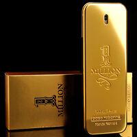 Paco Rabanne Perfume 1 One Million Eau De Toilette Mens Cologne Parfum 3.4oz