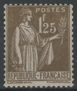 FRANCE-STAMP-TIMBRE-N-287-034-TYPE-PAIX-1F25-OLIVE-034-NEUF-xx-TTB-N436