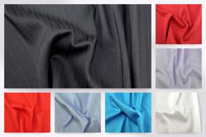 Self Stripe Stretch Shirting Dress Fabric EM-StretchSelfStripeShirting2526-B...