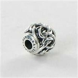 7e254e1e12a91 Details about Genuine Pandora Essence Collection Silver Friendship Bead  796057