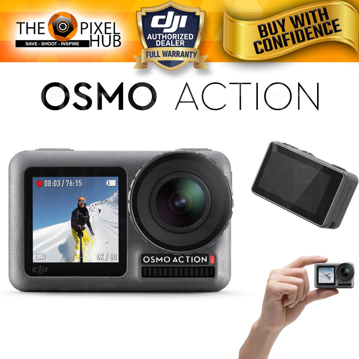 DJI Osmo Action 4K Camera - RockSteady Digital Video Stabilization Dual Screen action camera digital dji dual osmo rocksteady screen stabilization video
