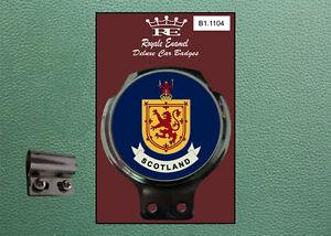 Royale Classic Car Badge & Bar Clip SCOTLAND Mod B1.1104