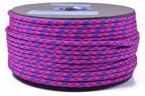1000 Foot Spool 550 Paracord for Paracord Crafts Made in the United States Razz Matazz