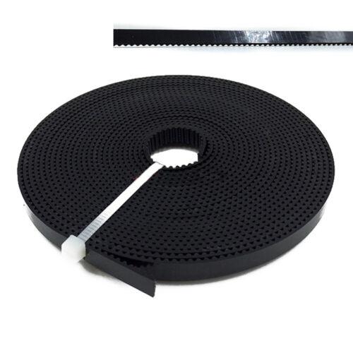2GT 6 to 40 mm Width HTD STPD XL Open Timing Belt Black for CNC 3D Printer