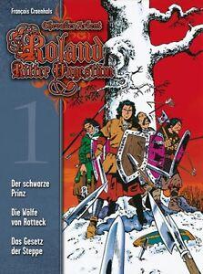 ROLAND-RITTER-UNGESTUM-HC-1-8-kpl-Gesamtausgabe-F-CRAENHALS-Chevalier-Ardent