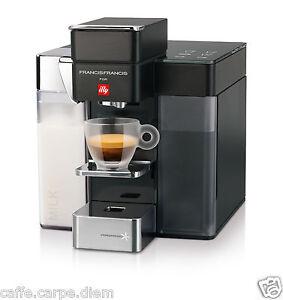 Macchina caffè Y5 MILK Francis illy capsule iperespresso coffee ...