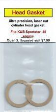 K&B Sportster .45 Cylinder Head Gasket 2 Pack NIP