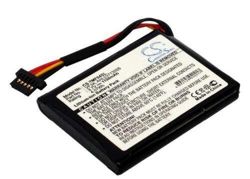Batería Celular Reino Unido stock RoHS TomTom VF3A 1100 mAh Li-Ion