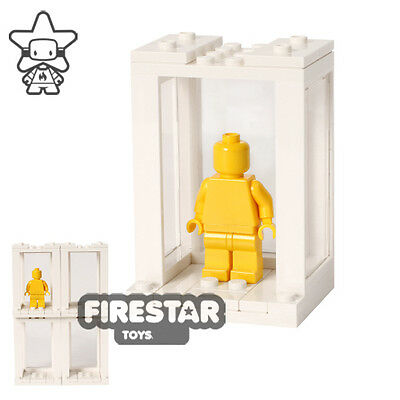 Stackable LEGO Minifigure Display Cases x 4 - White