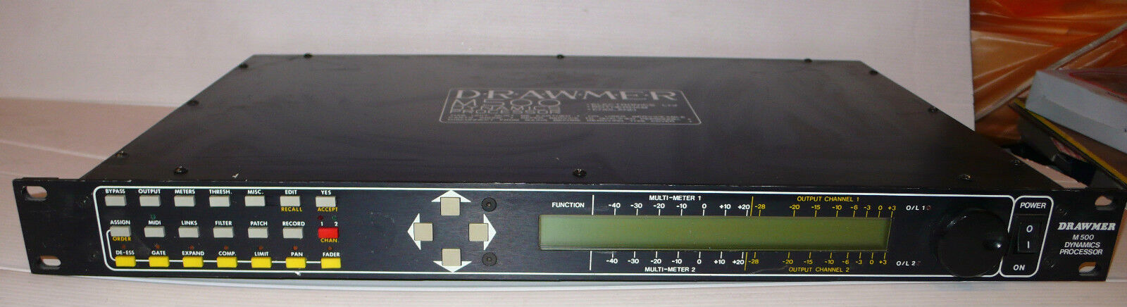 DRAWMER  M-500    Dynamic Sound Processor RACK STUDIO VINTAGE