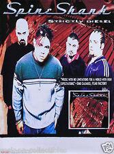 Spine Shank 1998 Strictly Diesel Original Promo Poster