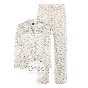 Image is loading PRIMARK-Ladies-DISNEY-BAMBI-Silky-Traditional-Pajamas -Pyjamas- 9088d1cf6238d