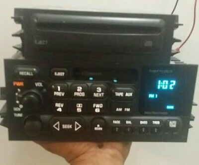 1995-2002 GM GMC ASTRO CHEVY TAHOE SILVERADO TAPE DECK ...