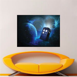 Image is loading Doctor-Who-Wallpaper-Decal-Sticker-Time-Travel-Show- & Doctor Who Wallpaper Decal Sticker Time Travel Show Tardis Door ...