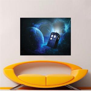 good looking doctor who tardis door decal. Image is loading Doctor Who Wallpaper Decal Sticker Time Travel Show  Tardis Door