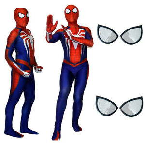 Spider-man-Jumpsuit-PS4-Insomniac-Game-Bodysuit-Zentai-Cosplay-Halloween-Costume