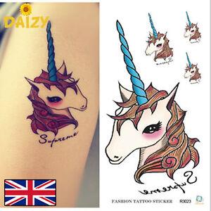 Unicorn Tattoo Small Temporary Tattoo Small Unicorn Tattoo Cute