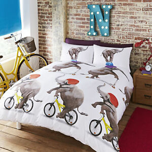 Nellie-the-Elephant-Bed-Set-Bedding-includes-Duvet-cover-and-Pillow-cases