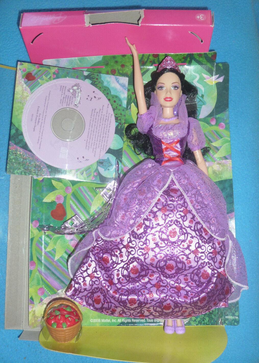 Barbie - Schneewittchen mit Musik CD- TOP