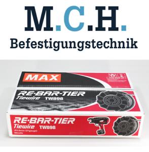 Max-Bindedraht-TW-898-blank-50-Rollen