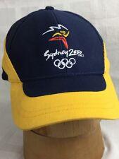 Sydney 2000 Olympics Millennium Collection Hat Baseball Cap Adjustable