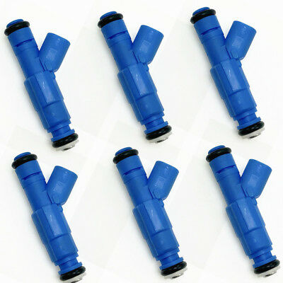 EV6 Fuel Injectors For 01-07 Dodge Chrysler 3 3L V6 22lb