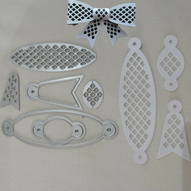 Bow Knot Metal Cutting Dies Stencil Scrapbooking Paper Card Embossing Crafts