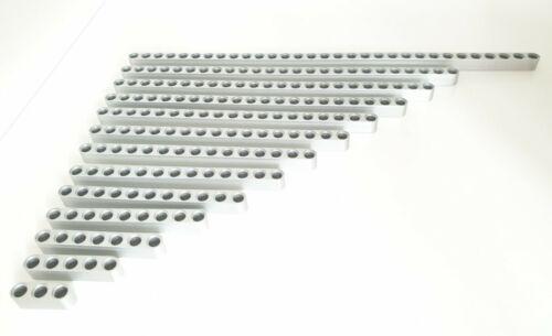 Vigas De Metal Aluminio Estilo Lego Technic Extra Larga /& Fuerte