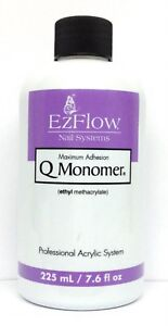 Image Is Loading Ezflow Nail Systems Q Monomer Acrylic Liquid