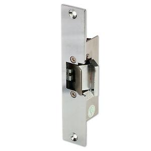 Electric strike lock dc 12v fail safe nc mode for glass for 12v electric door strike