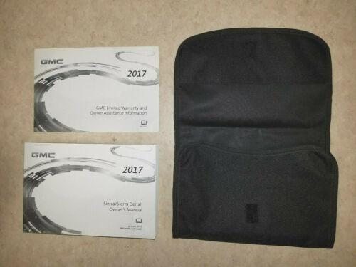 Denali Owners Owner/'s Owner Manual Book Portfolio 84214738 NEW 2017 GMC Sierra