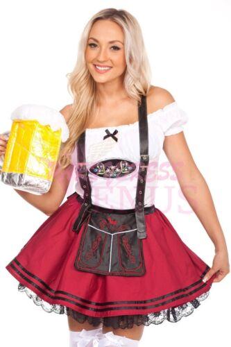 OP 204b Ladies Costume Fancy Dress Deluxe Oktoberfest German Wench Beer Maid