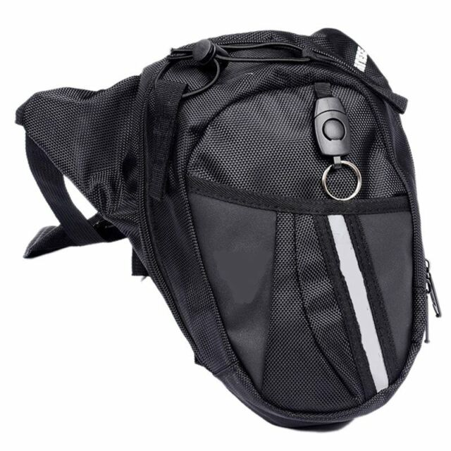 New Motorcycle Scooter Drop Leg Waist Bag pack R4S6