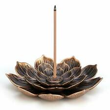 """Tree of Life Design Brass Cone Tower 7.5/""""HIncense Charcoal Burner"""