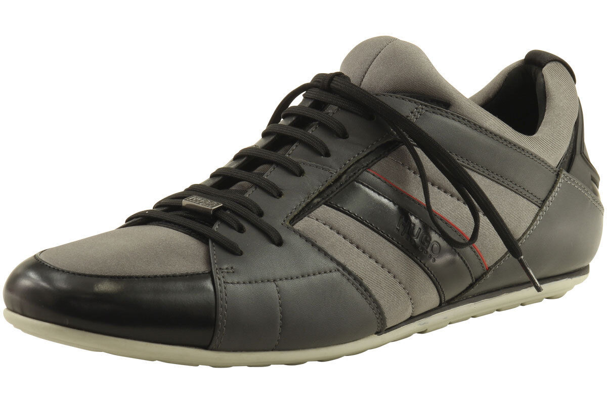 Hugo Boss Men's Thanso Medium Grey Sneakers shoes Sz  11