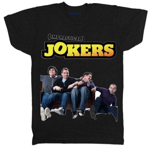Impraticable Jokers USA 00 S Homme Culte TV Film Film Noir T Shirt