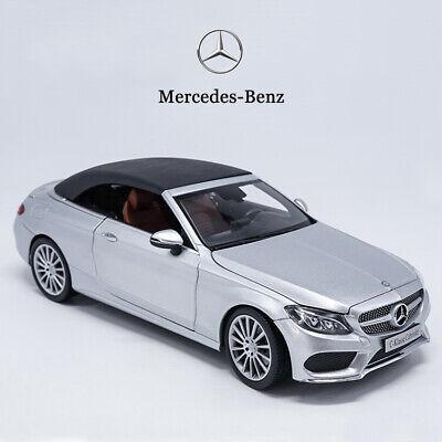 Original Model Car 1:18 Scale Mercedes-Benz C-Klasse C-Class Cabriolet A205 | eBay