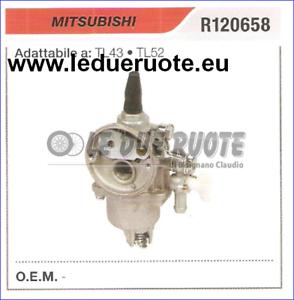 R120658 CocheBURATORE A MEMBRANA MITSUBISHI TL43 TL52